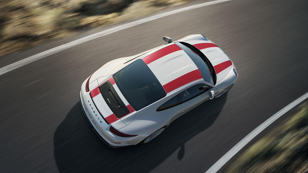 Porsche 911 R, el más ligero