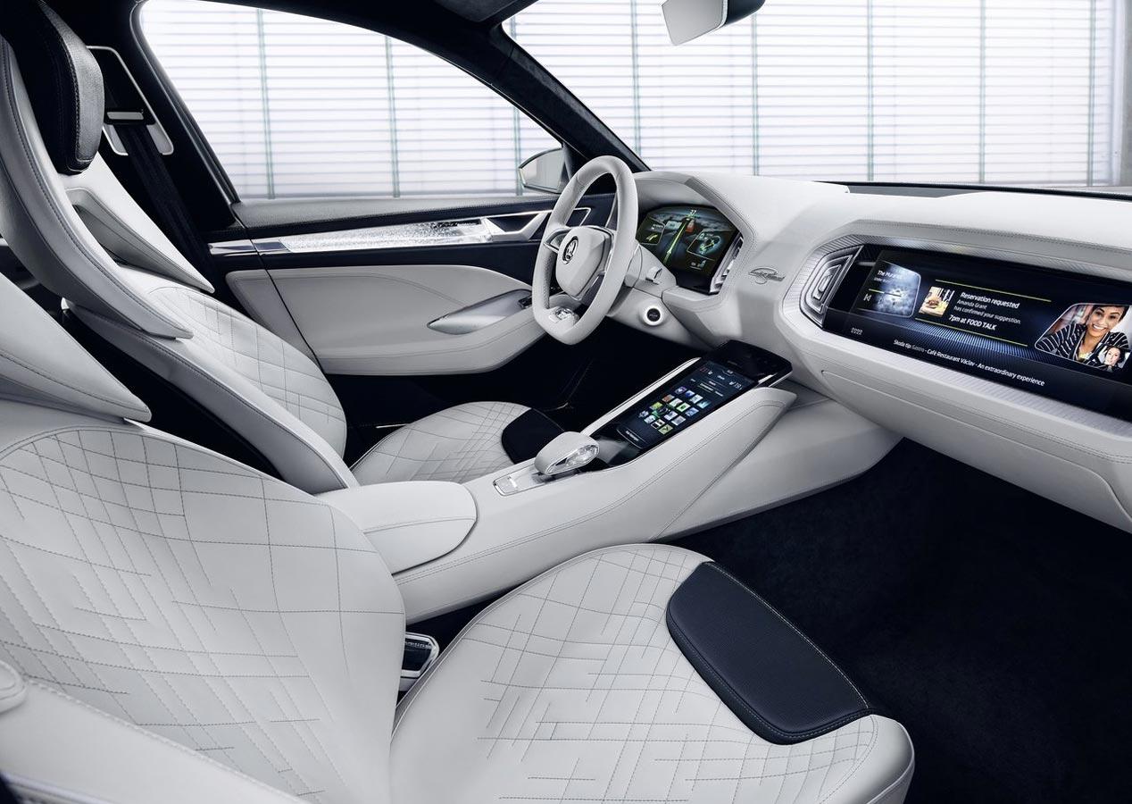 Skoda VisionS, un anticipo del futuro SUV checo