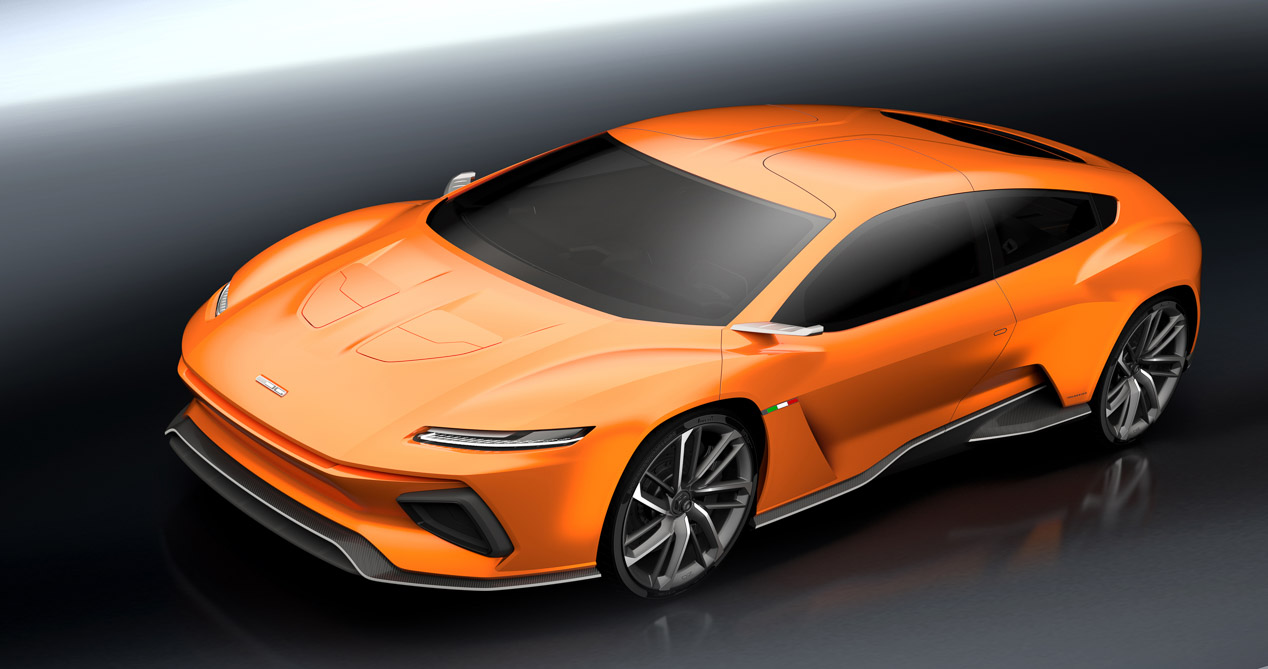 ItalDesign GTZero, familiar eléctrico de 483 CV