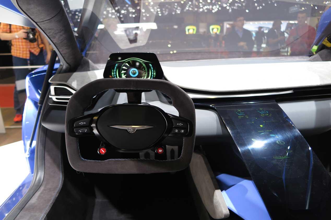 Techrules coches eléctricos con turbinas
