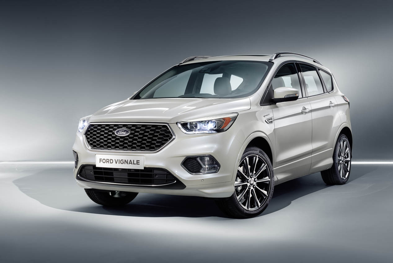 Ford Edge Vignale y Ford Kuga Vignale Concept