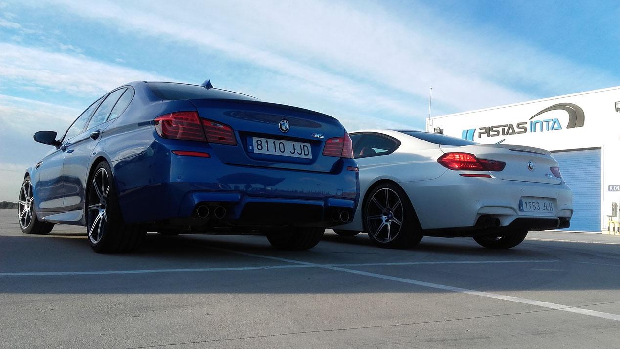 BMW M5, BMW M6 y Lexus GS F: más de 1.600 CV juntos