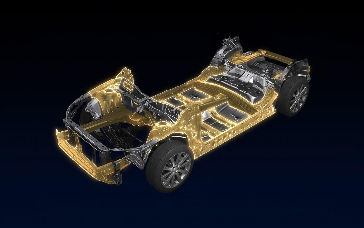 La plataforma SGP de los Subaru desde 2016 hasta 2025