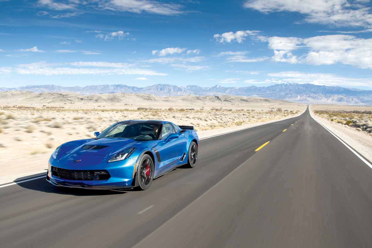 Chevrolet Corvette Z06: ruta por Nevada y California