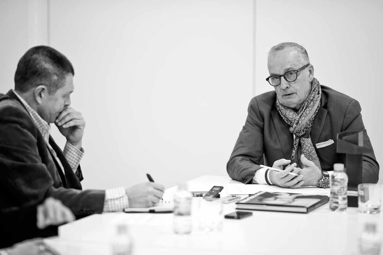 Entrevistando al diseñador Walter de Silva