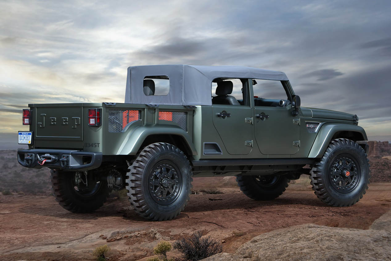 Los coches de Jeep para el Easter Jeep Safari