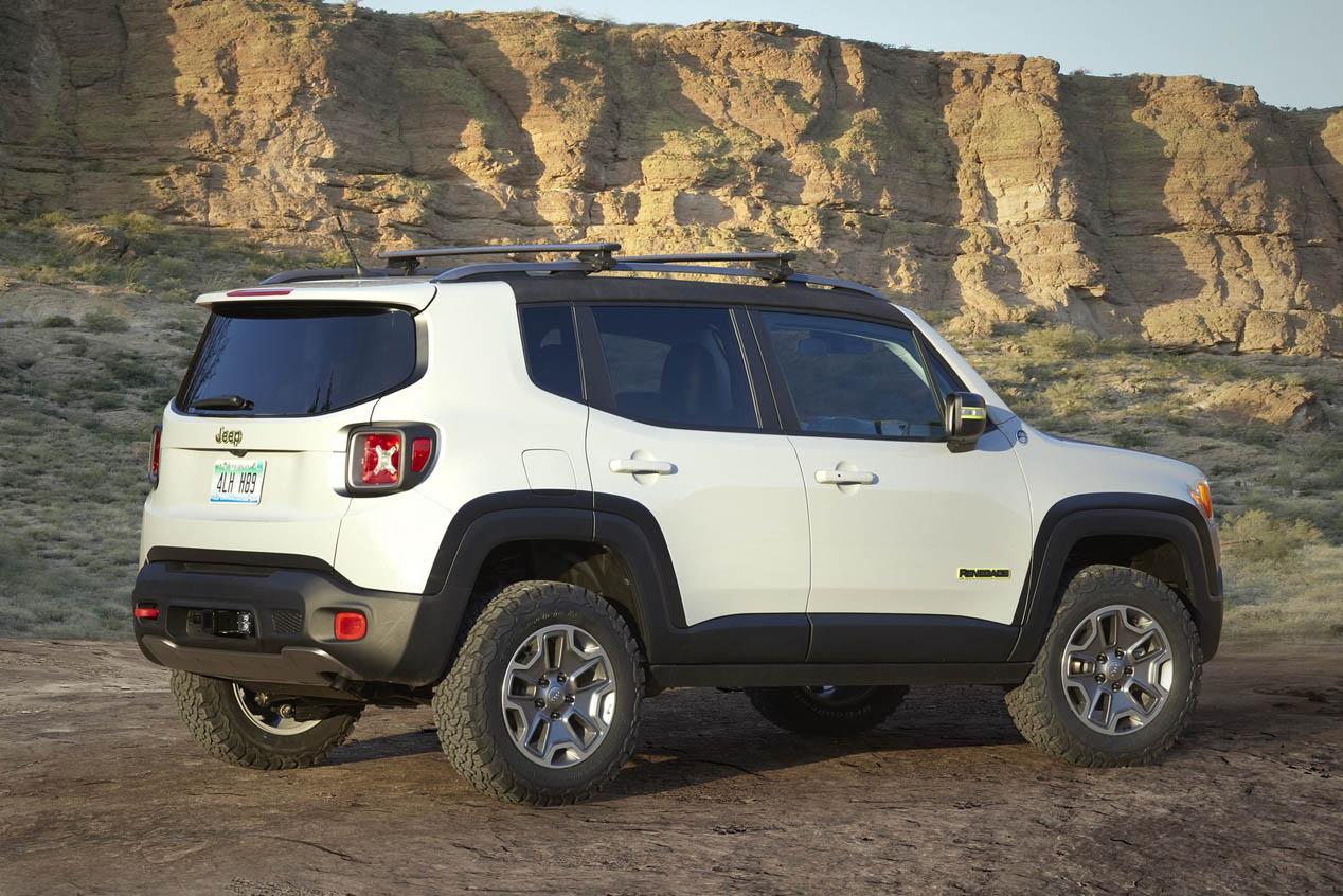 Los coches de Jeep para el Easter Jeep Safari