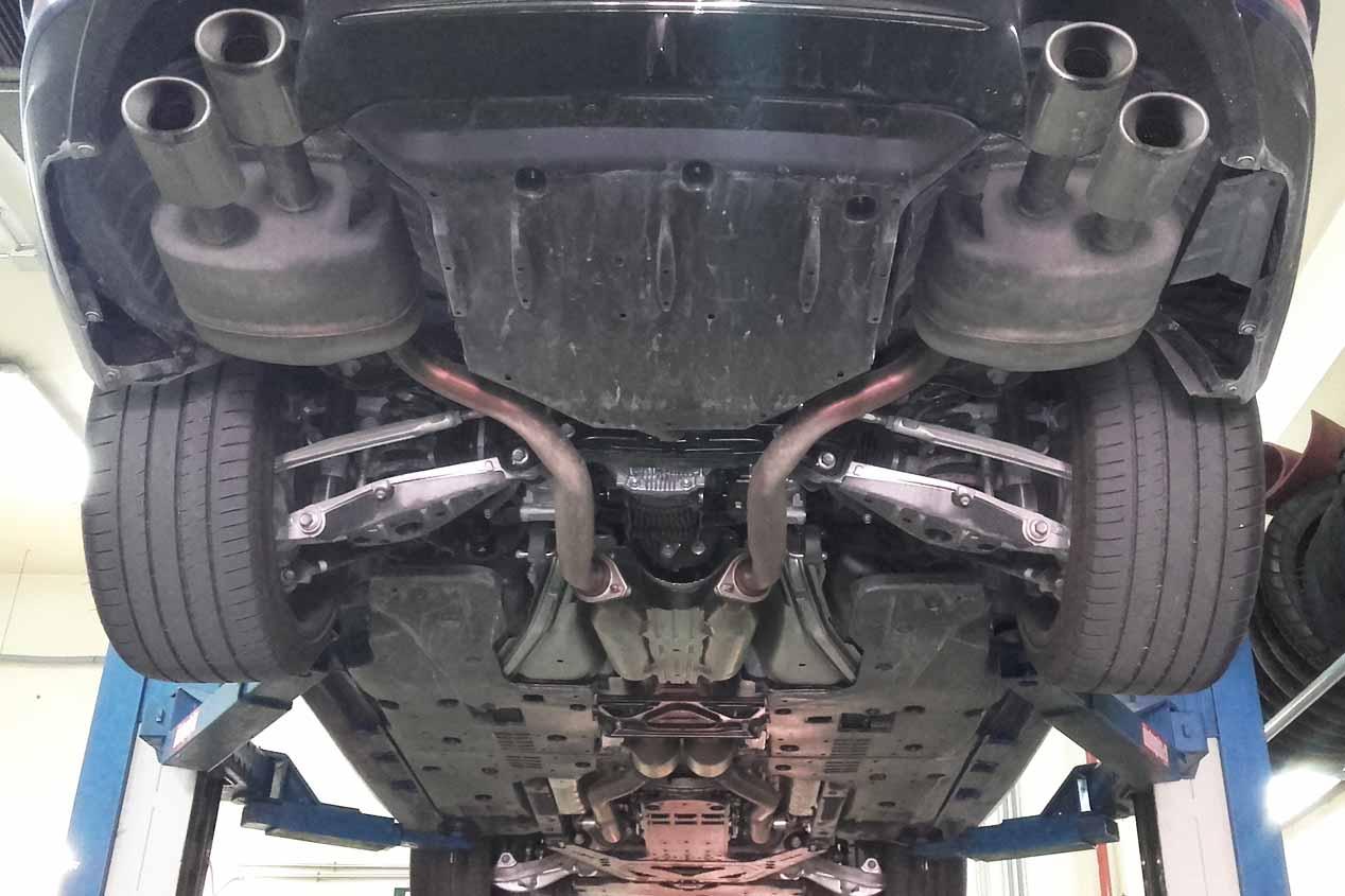 Lexus GS F, a prueba su consumo