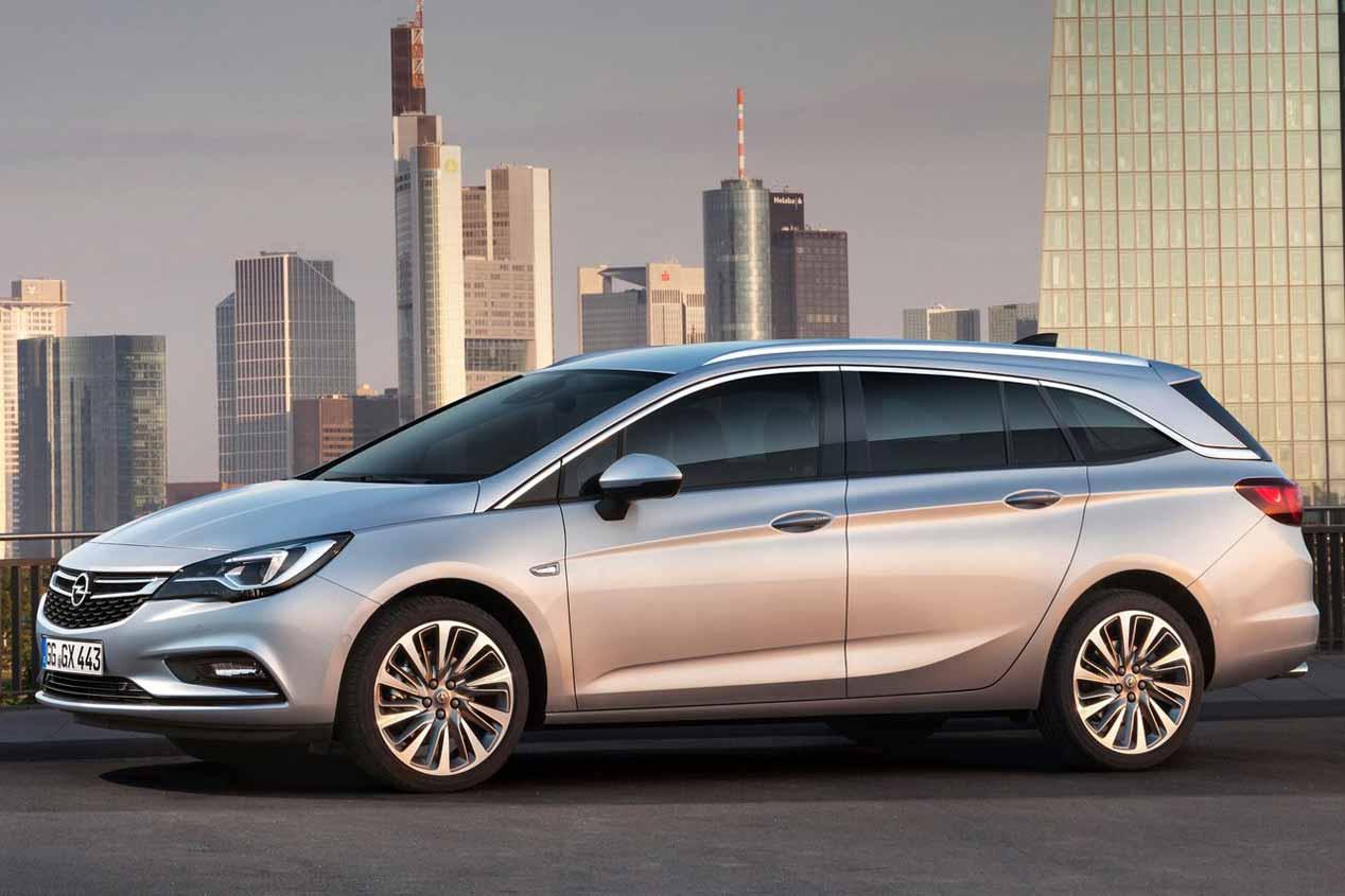 Opel Astra Sports Tourer, las imágenes del Astra familiar