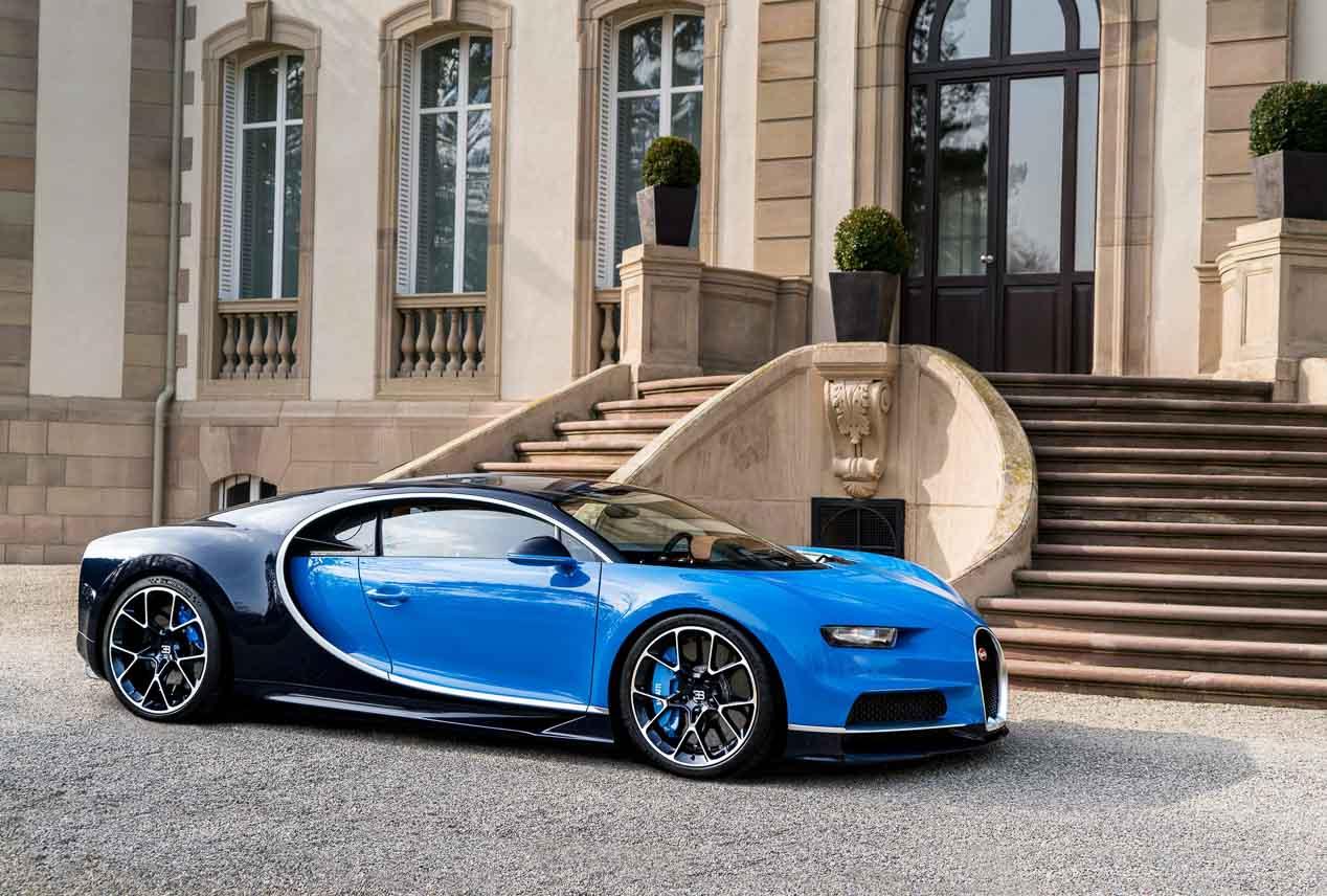 Los secretos del superdeportivo Bugatti Chiron