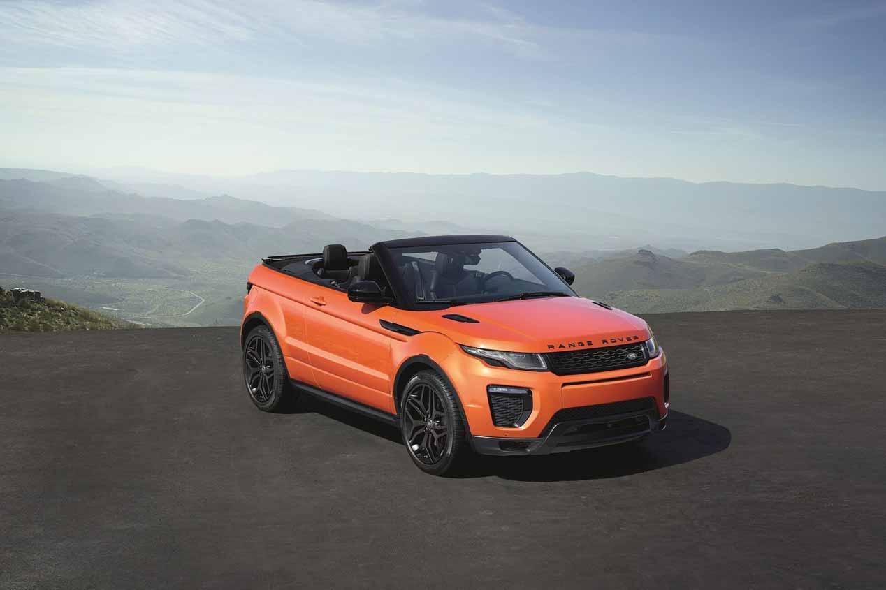 Range Rover Evoque Cabrio, a prueba