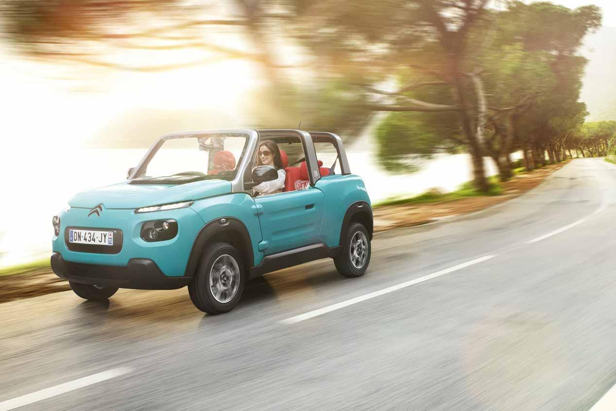 A prueba el Citroën e-Mehari de la nueva era