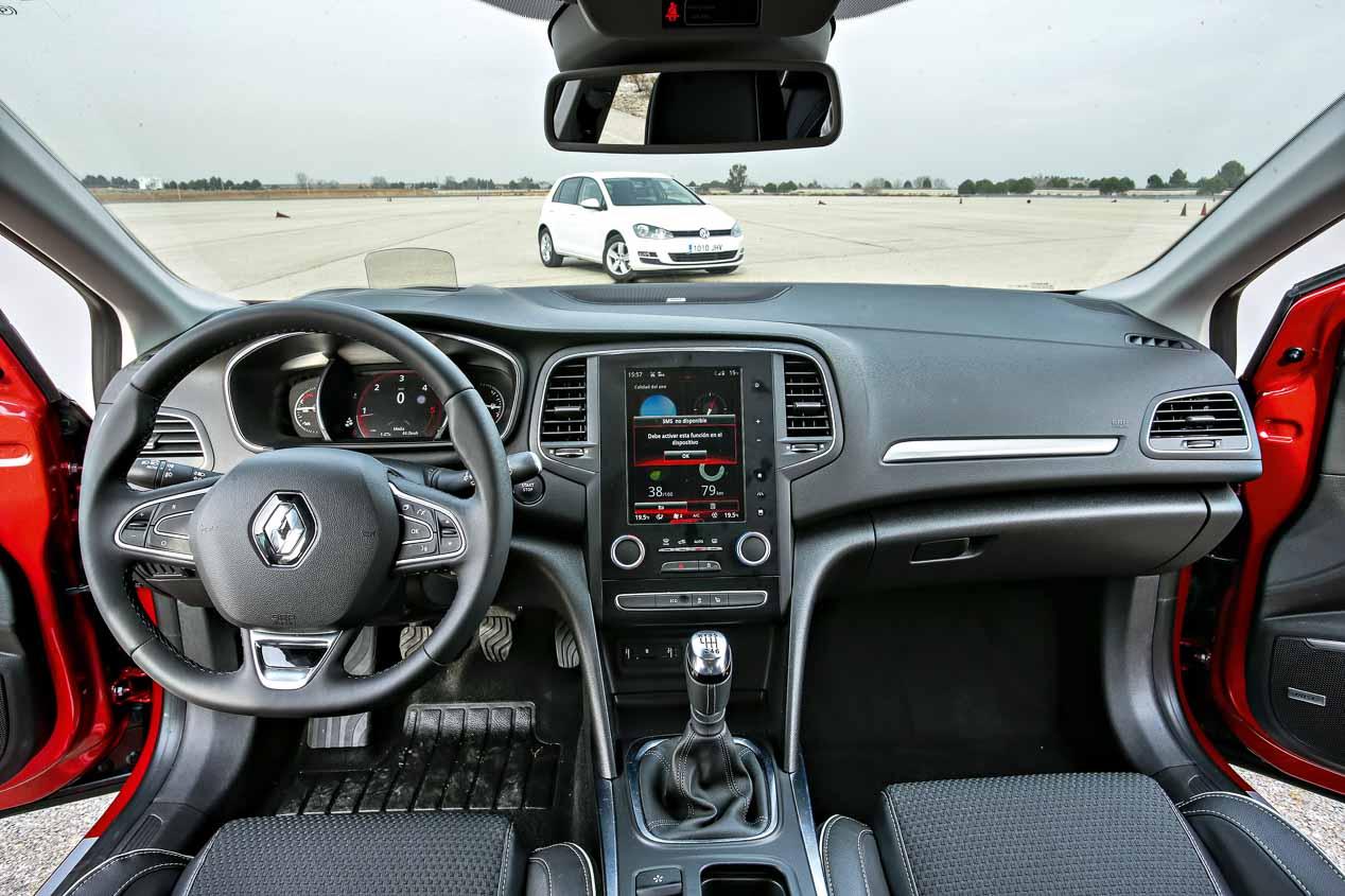 Comparamos el Renault Mégane 1.5 dCi frente al VW Golf 1.6 TDi