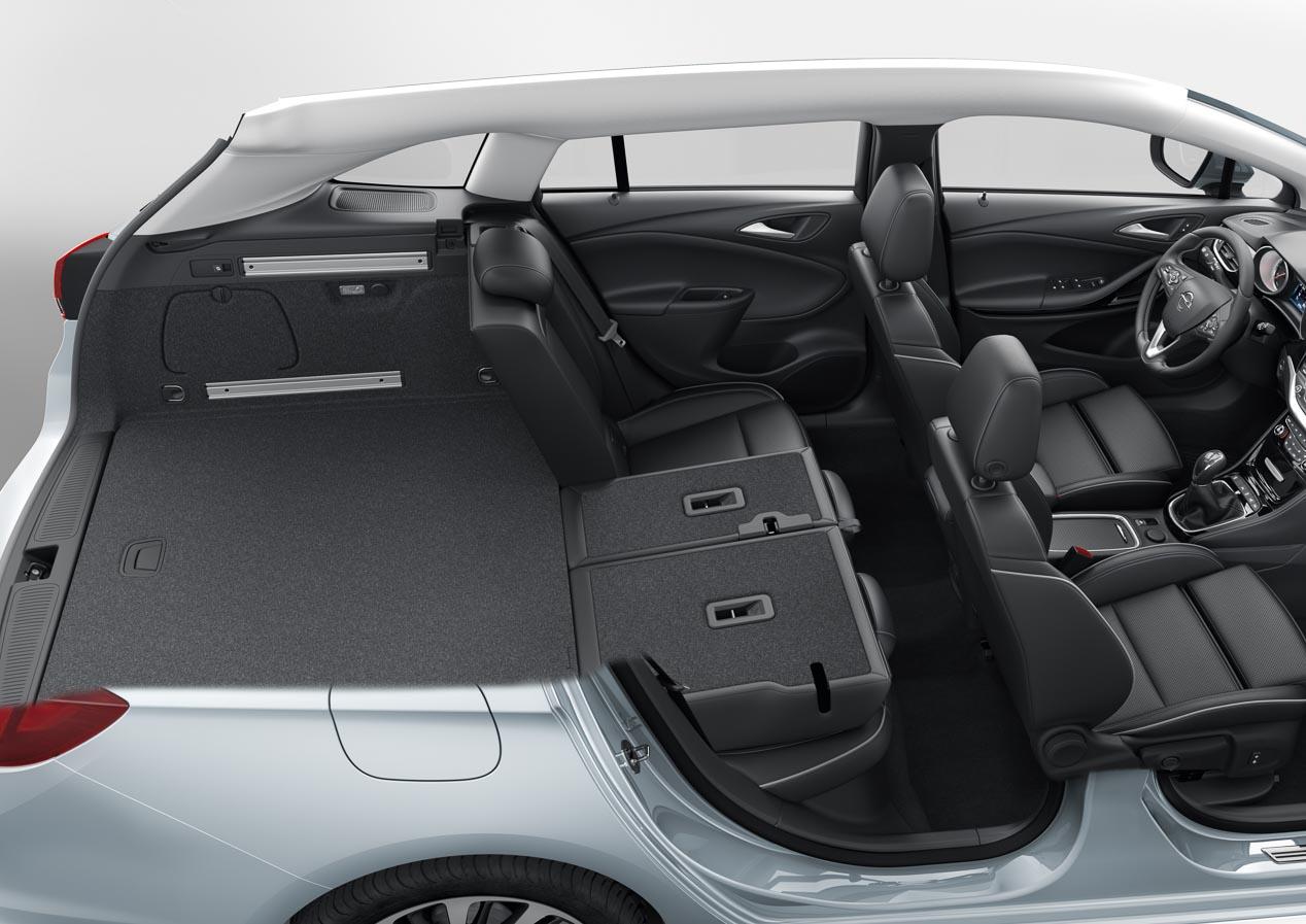 Opel Astra Sports Tourer, maletero