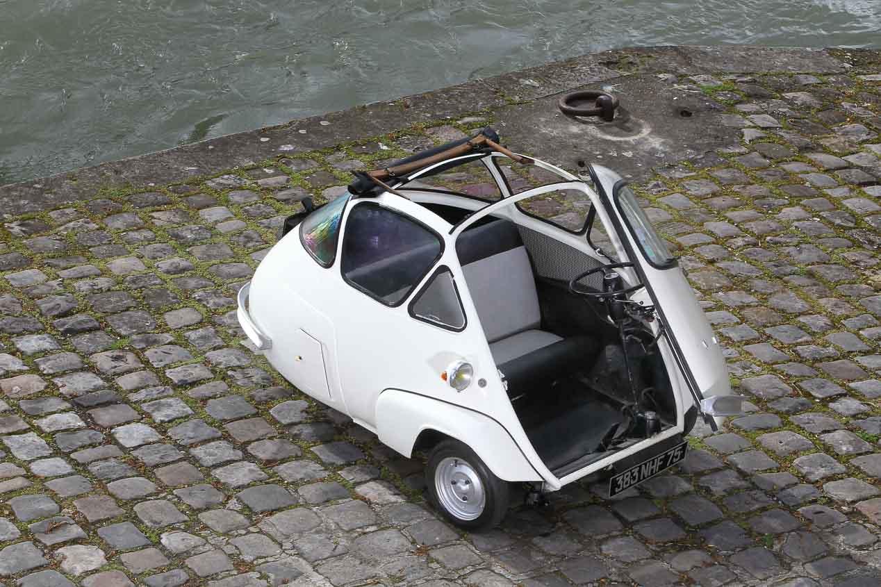 Microlino, el Isetta renace en el S. XXI, en versión eléctrica