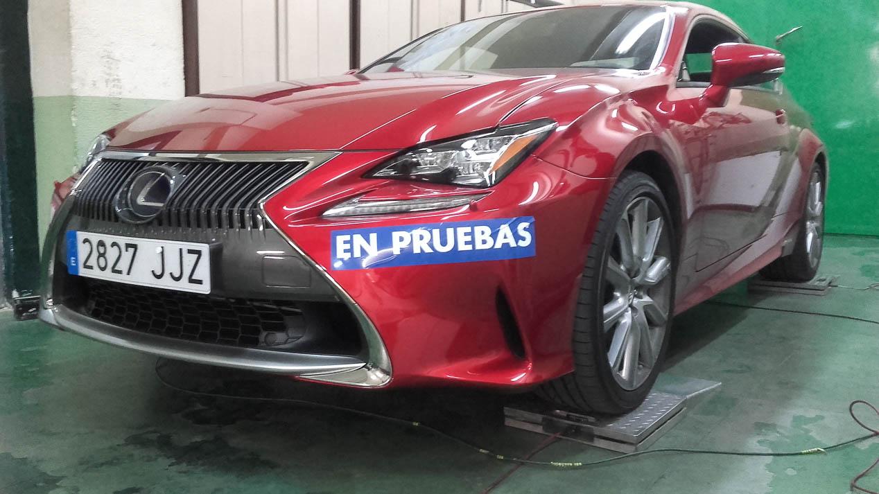 Lexus RC 300h: primeras impresiones