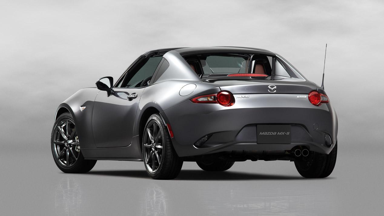 Mazda MX-5 RF, más confortable gracias a su techo retráctil