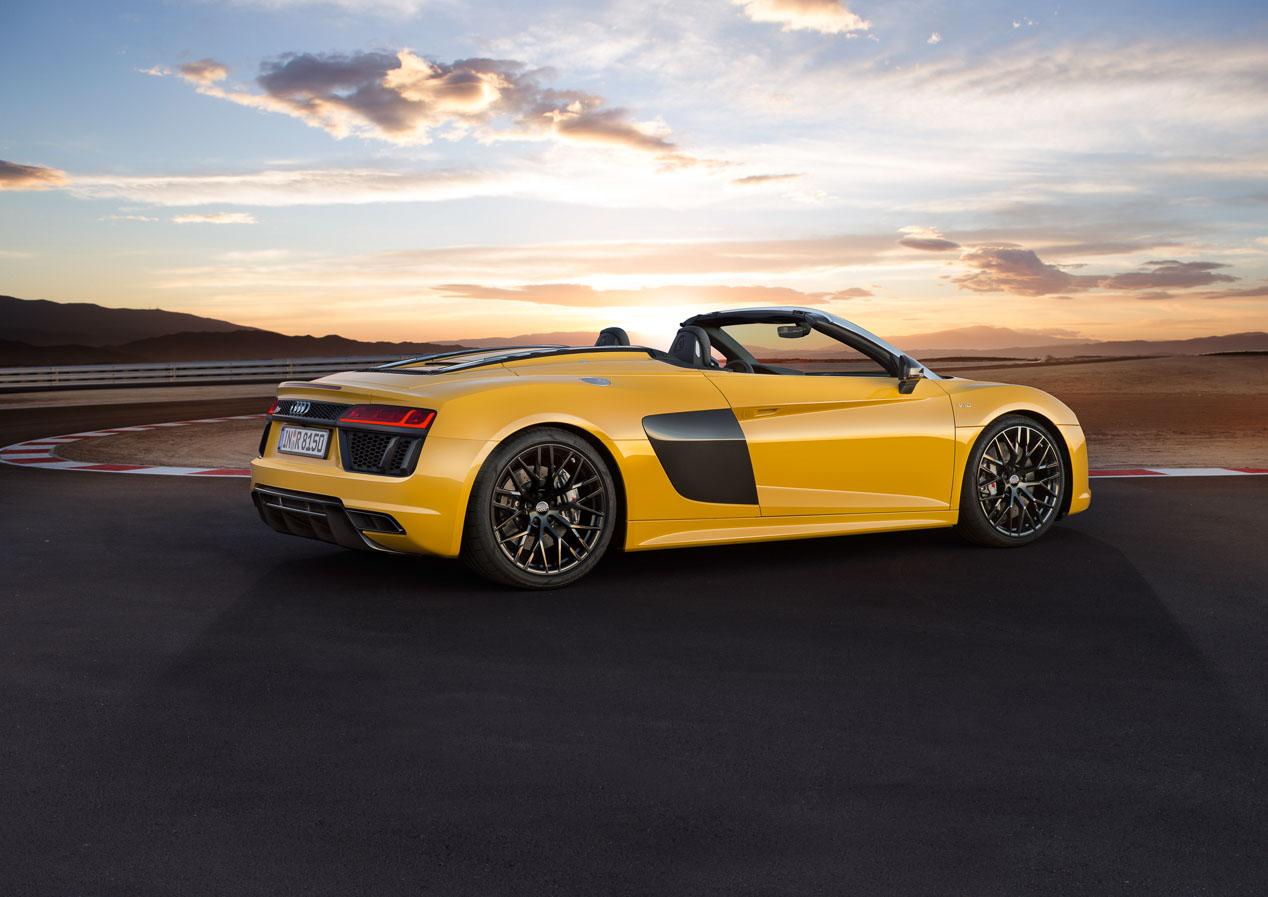 Audi R8 Spyder: el superdeportivo de Audi se quita el techo