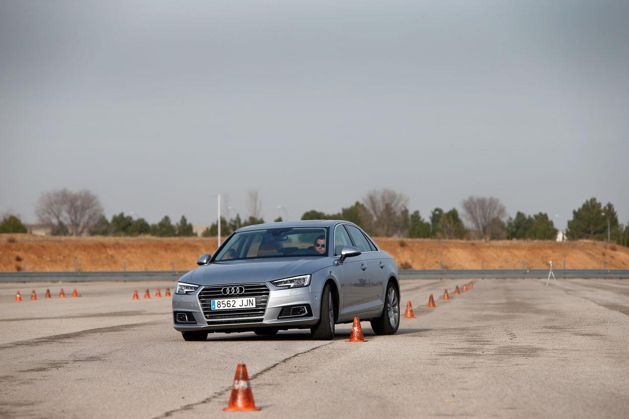 Audi A4 2.0 TDI, BMW 320d, Jaguar XE 2.0D, Lexus IS 300h, Mercedes C 220D
