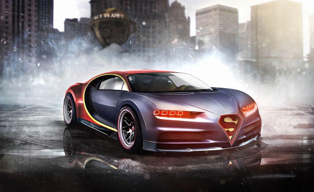 ¿Cuál es el coche ideal para los superhéroes de Marvel y DC?