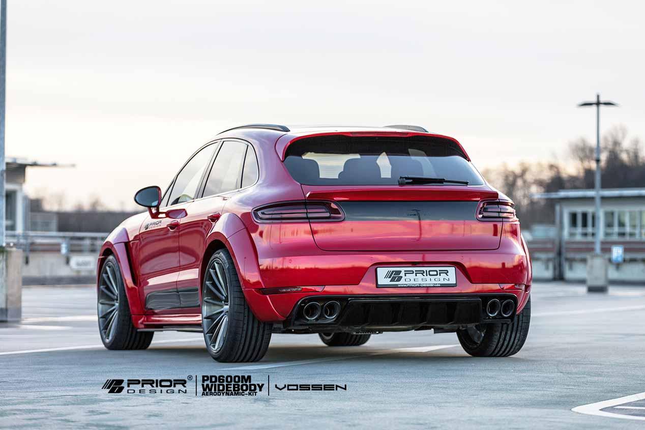 Porsche Macan por Prior Design