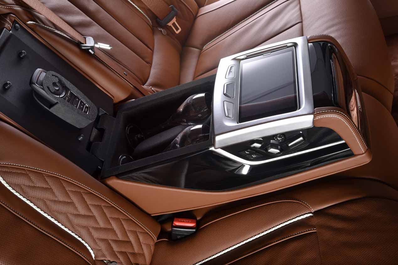 BMW Serie 7 Solitaire, lujo total con BMW Individual