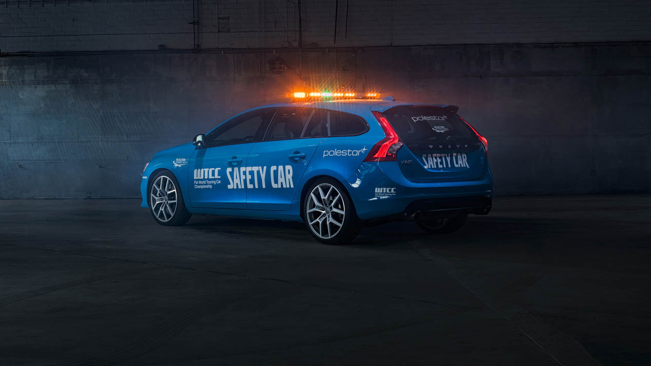 Volvo V60 Polestar Safety Car WTCC 2016