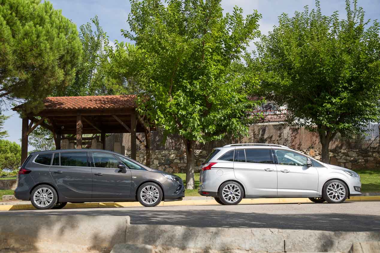 Ford Grand C-Max y Opel Zafira Tourer