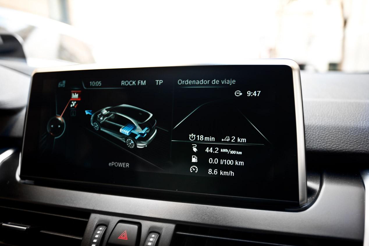 Así acelera y frena el BMW 225xe Active Tourer