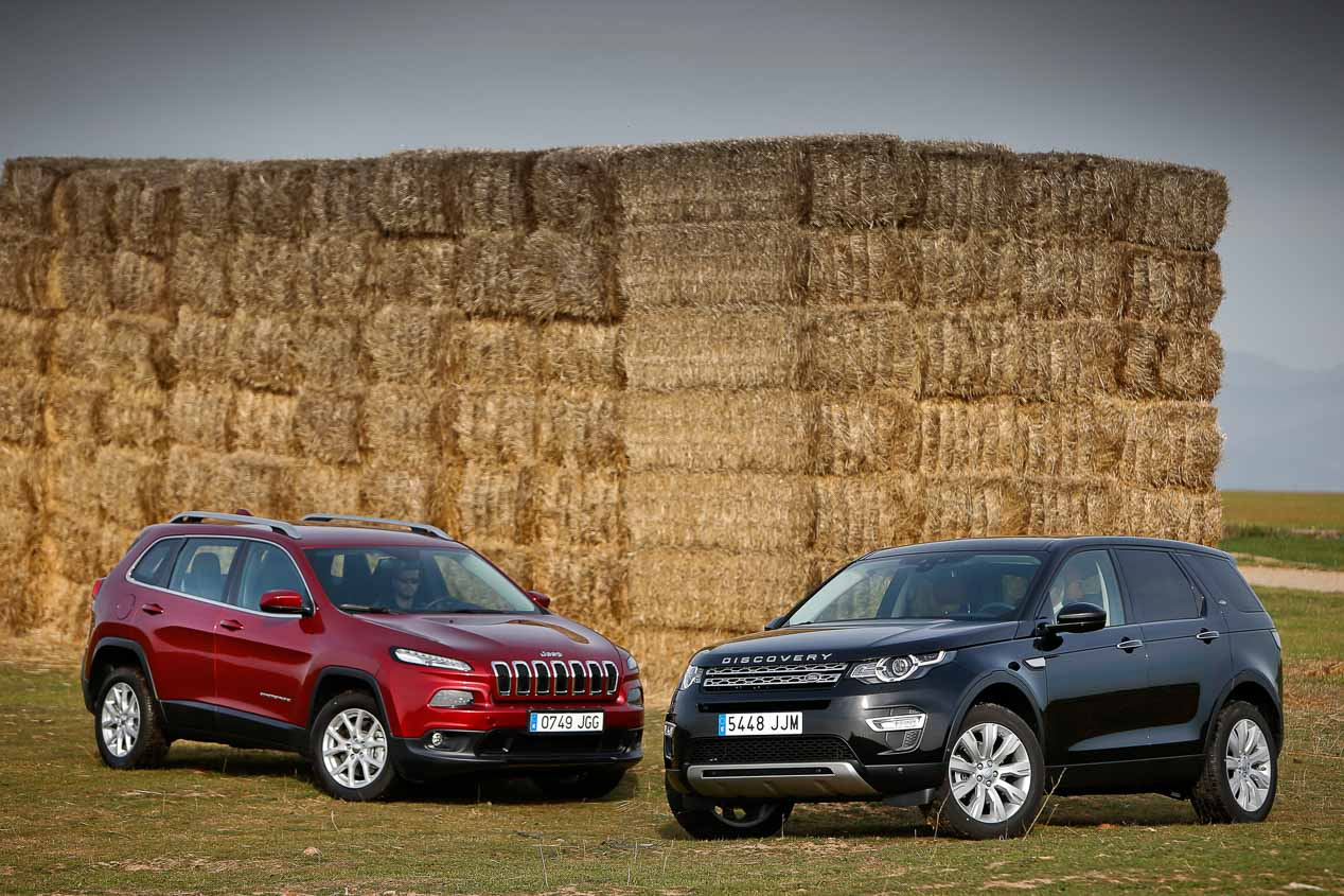 Jeep cherokee 22 mjd 200 land rover discovery sport 20 td4 180 jeep cherokee y land rover discovery sport sciox Gallery