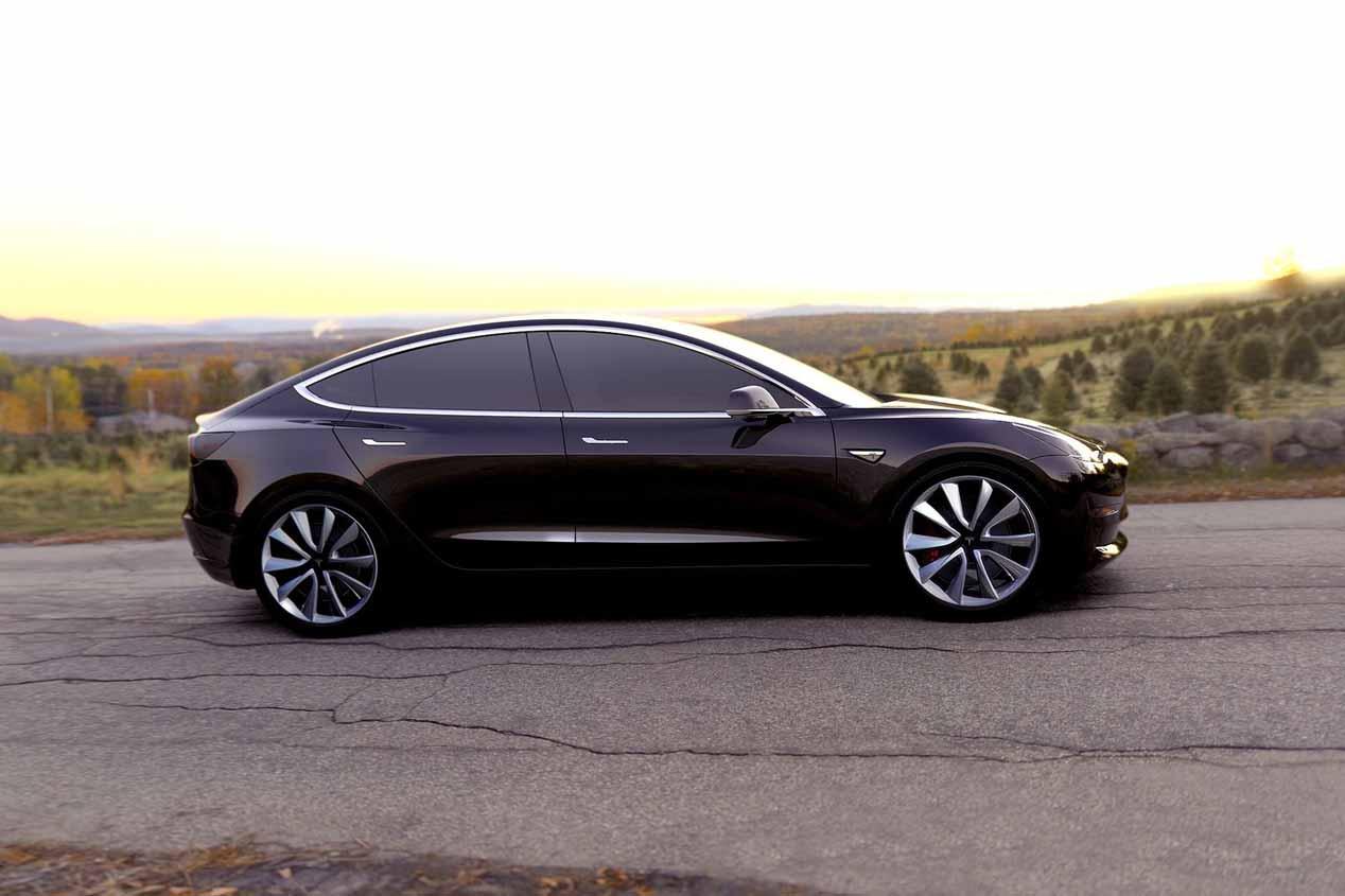 Tesla Model 3: el Tesla más económico, en imágenes