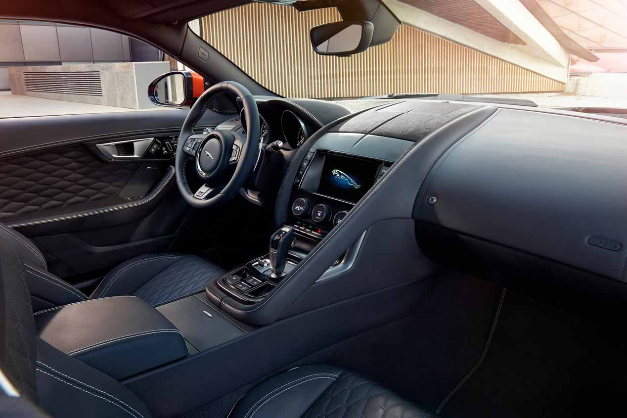 Jaguar F-Type SVR: sus fotos más espectaculares