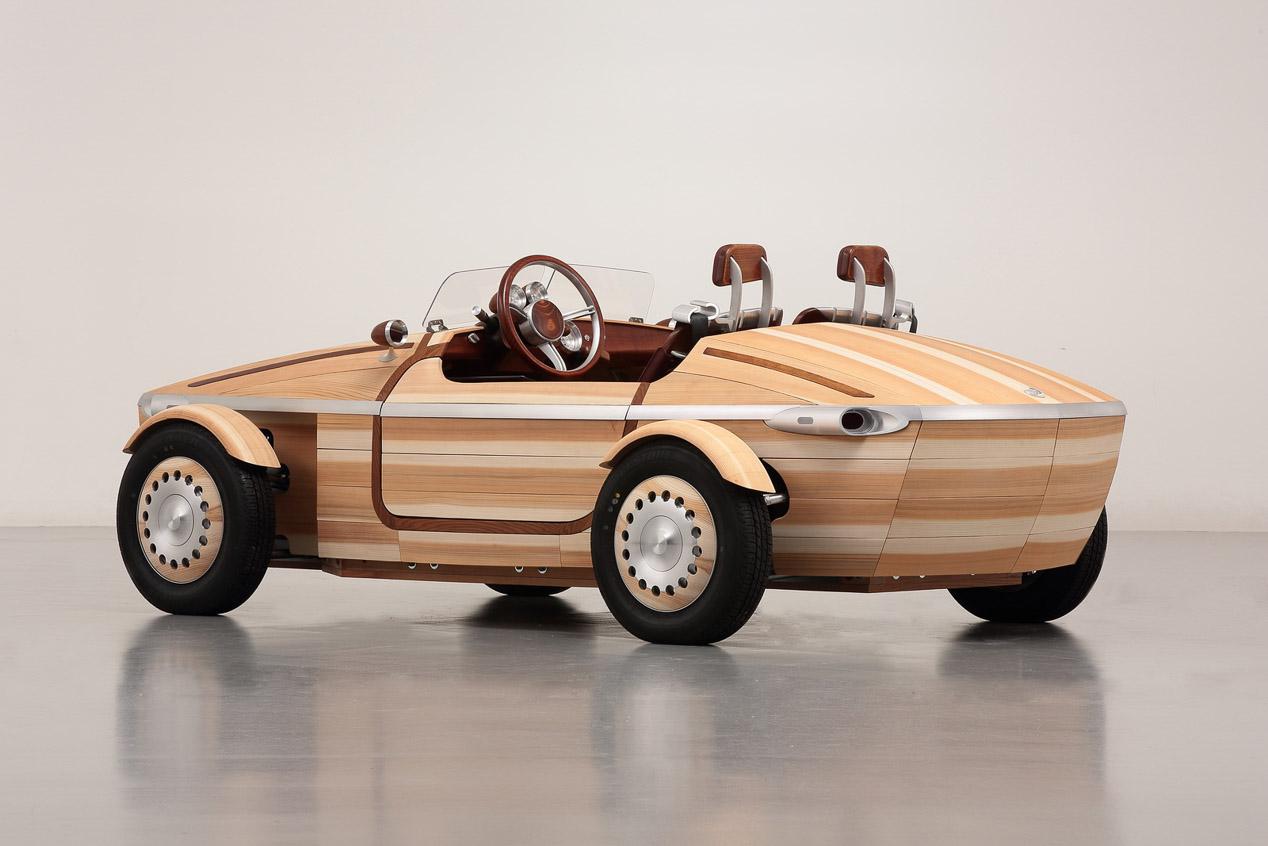 Toyota Setsuna: el coche de madera, en imágenes