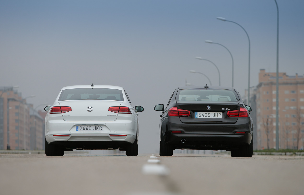 BMW 316d vs VW Passat 1.6 TDI