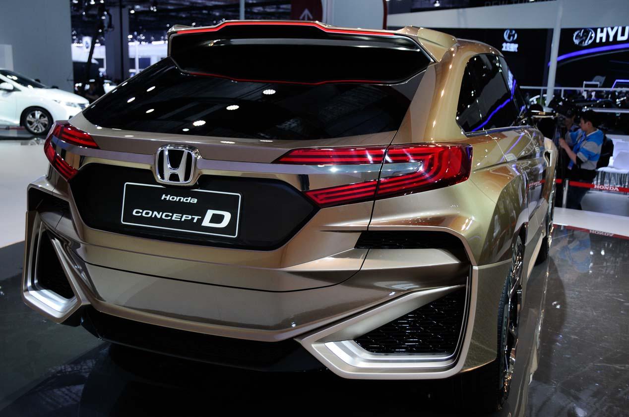 Honda presentará un nuevo SUV compacto en Pekín