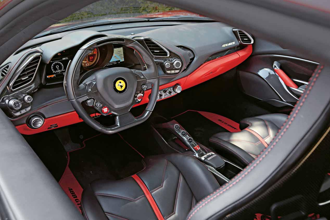 Ferrari 488 GTB, imágenes de nuestra prueba