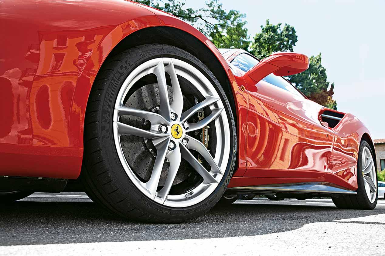 Ferrari 488 GTB prueba