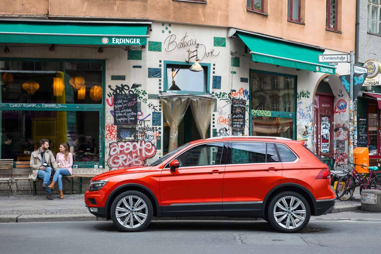 Volkswagen Tiguan 2016, a prueba el SUV alemán