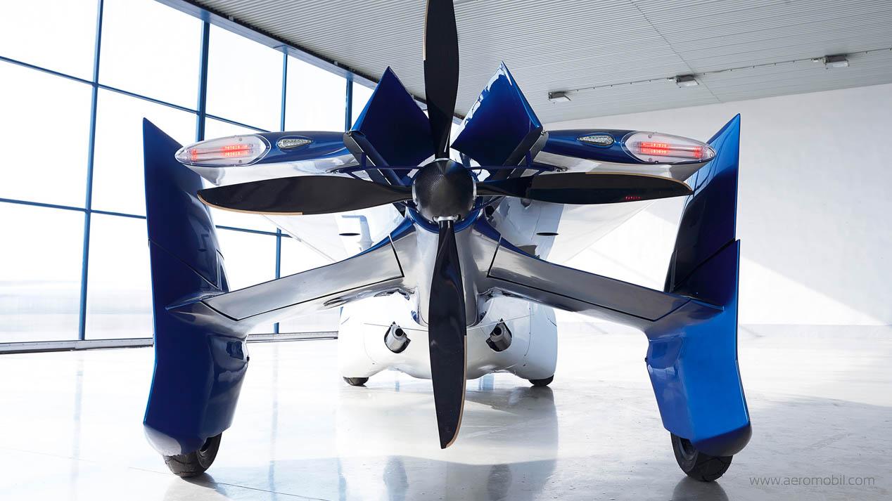 Aeromobil: el coche que vuela podría ser realidad en 2017