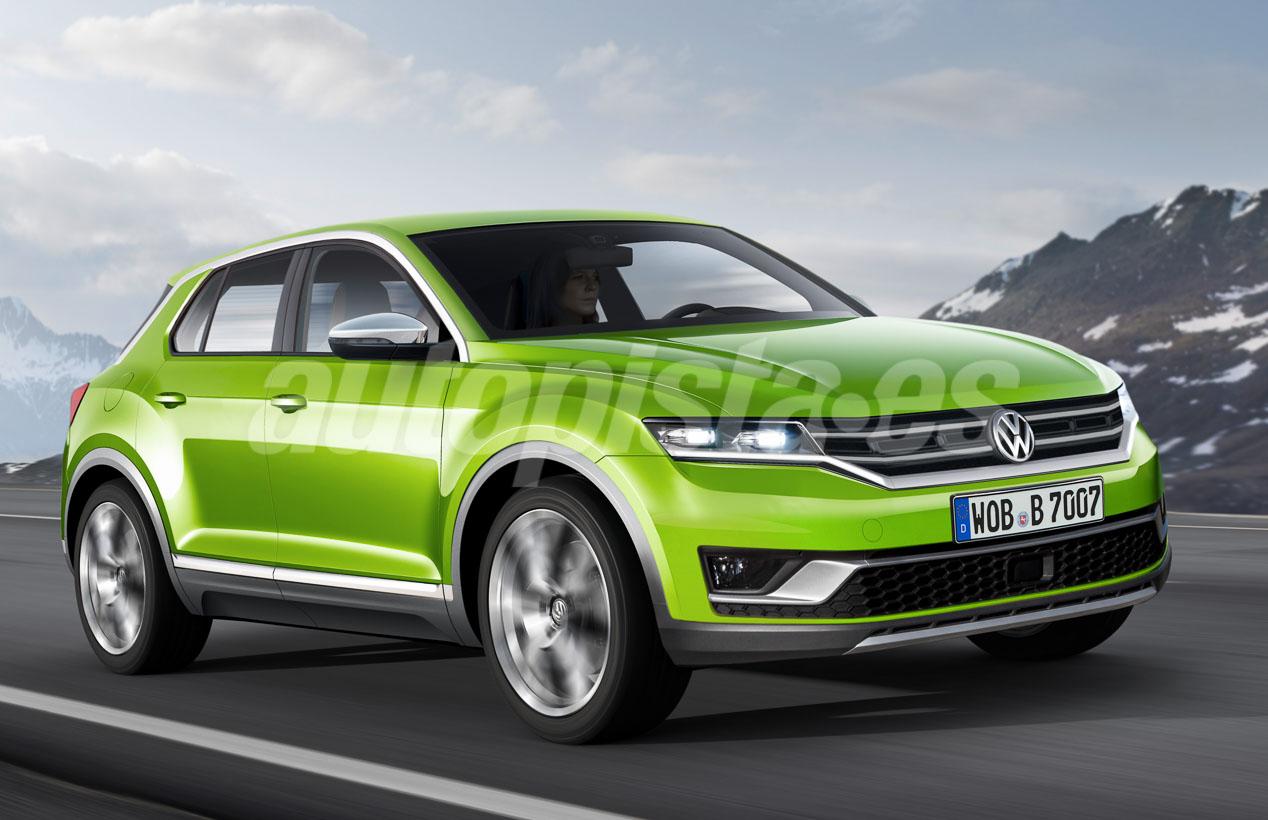 Así será el futuro VW Polo SUV que llegará en 2018