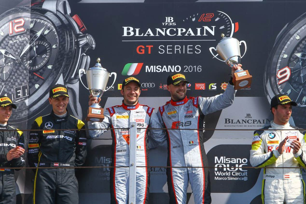 De carreras: Blancpain Sprint Series, karting,...