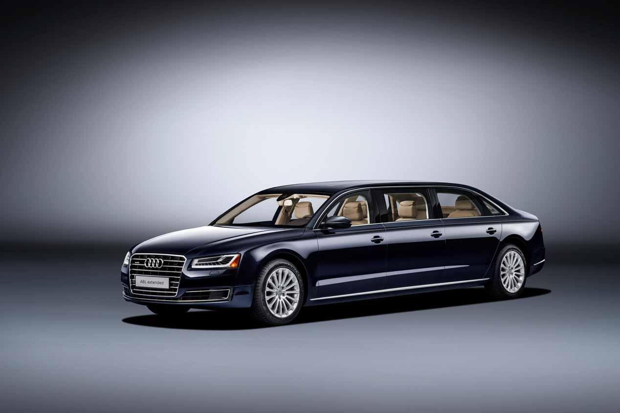 Audi A8 L extended, más de 6 m para 6 pasajeros