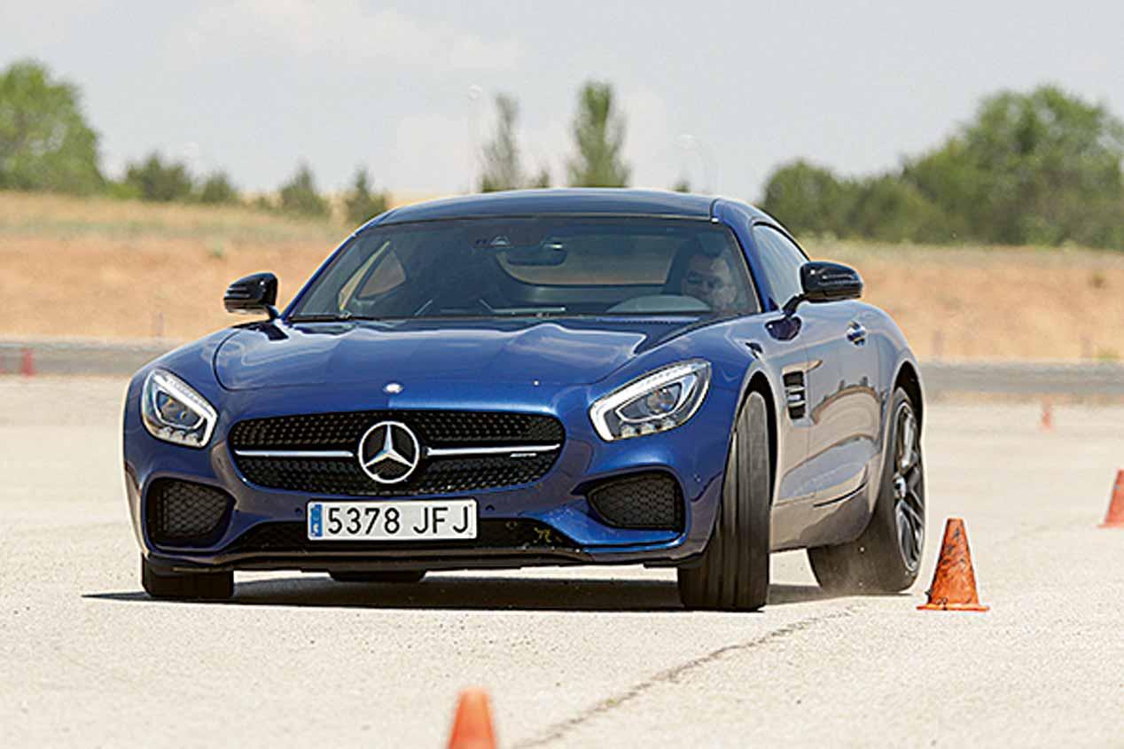 El Mercedes AMG GT S, a prueba