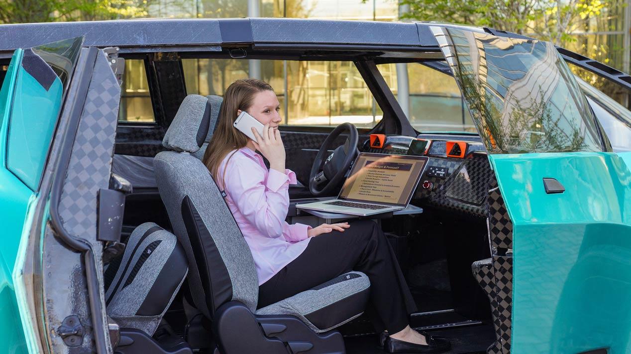 Toyota Ubox Concept, el eléctrico de los universitarios
