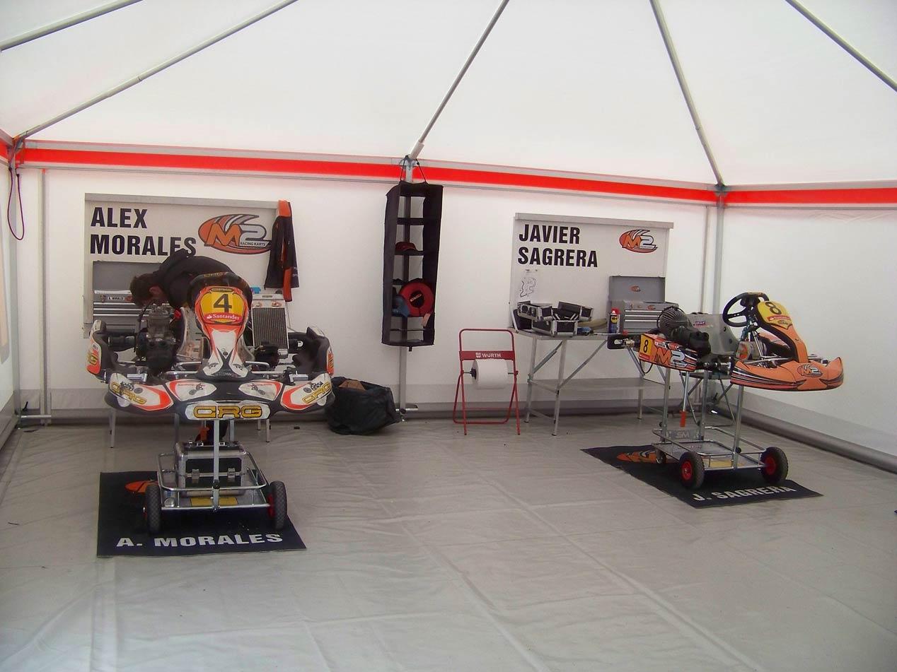 M2 Racing Karts, el equipo de Miguel Molina en el Nacional de Karting