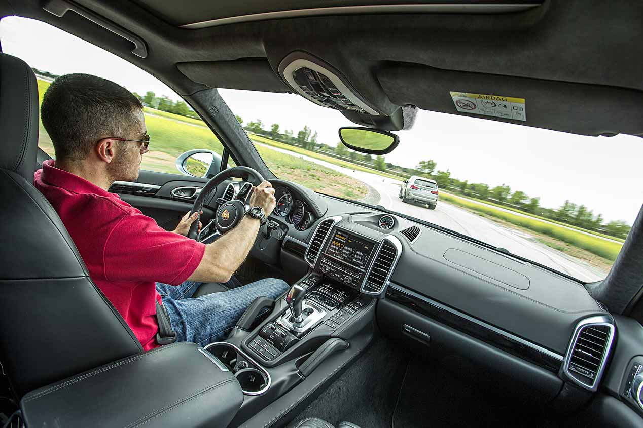 BMW X5 M y Porsche Cayenne Turbo: dos SUV deportivos, a prueba