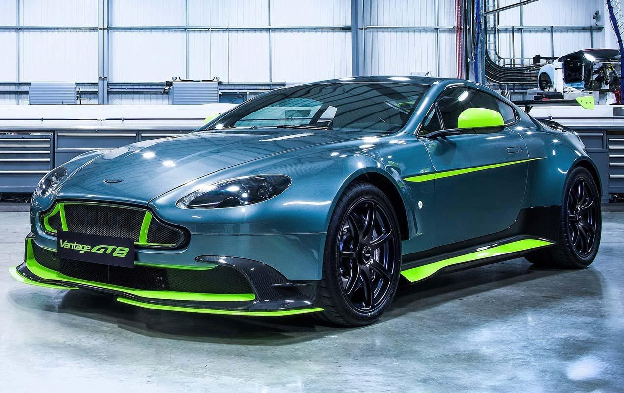 Aston Martin Vantage GT8 y GTS, ¡qué bestias!