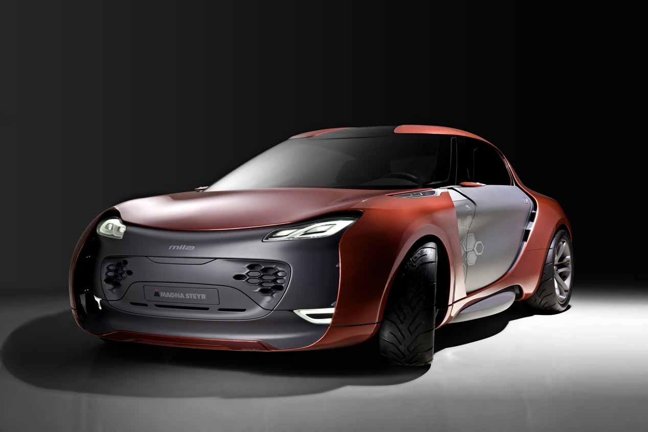 Conceptos de Magna Mile que encajarían como coche Apple