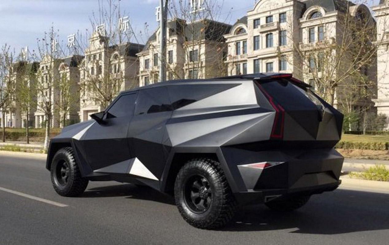 Así es el monstruoso SUV de IAT Auto para el Salón de Pekín