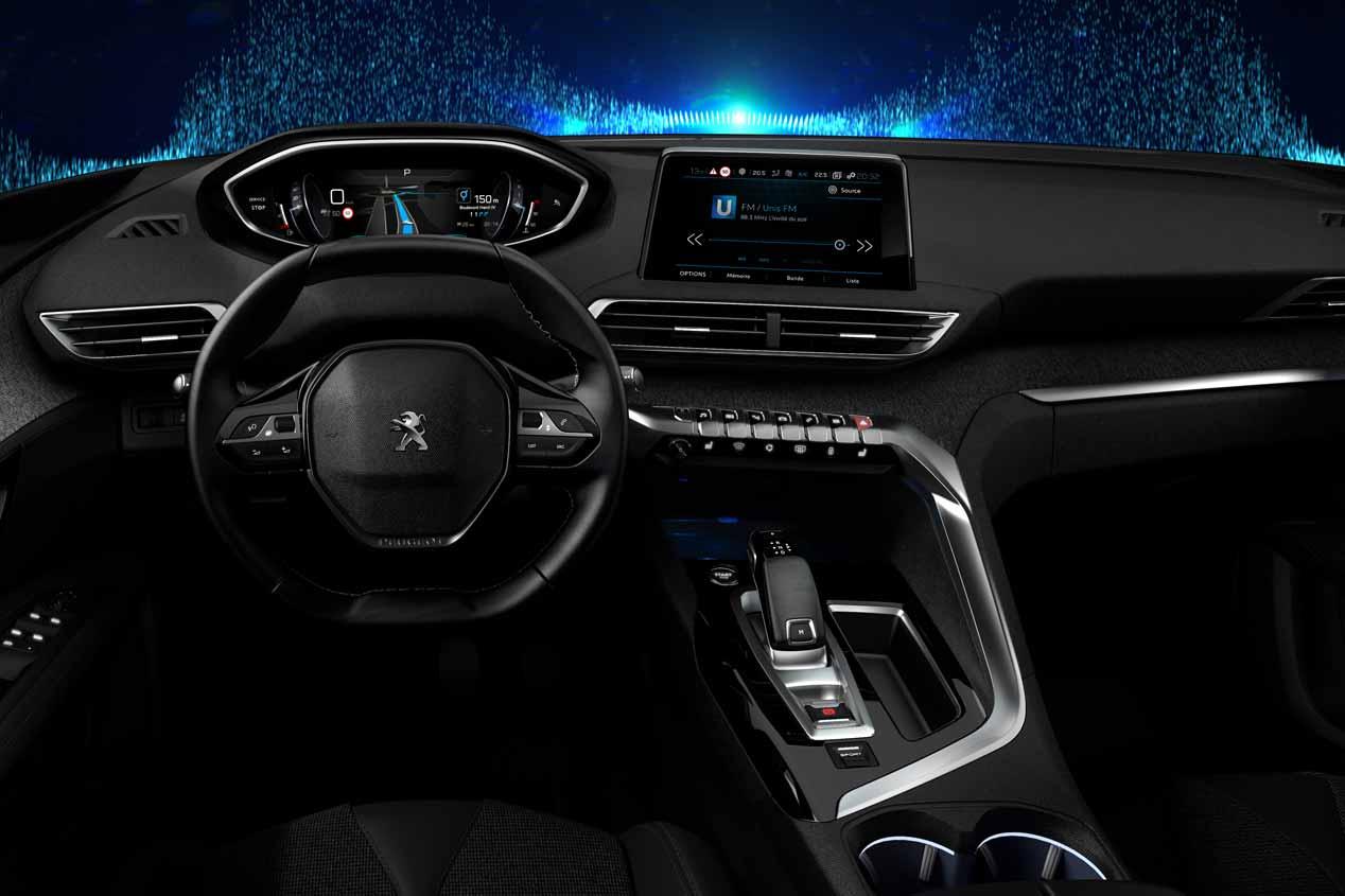 Nuevo Peugeot 3008 2016: fotos de su interior